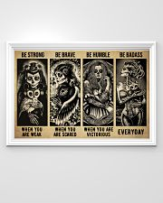 Sugar Skull Be Strong 36x24 Poster poster-landscape-36x24-lifestyle-02