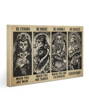 Sugar Skull Be Strong Gallery Wrapped Canvas Prints tile