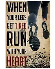 Running When Your Legs Get Tired  24x36 Poster front