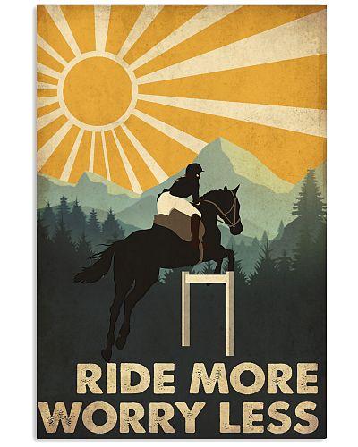 Horse Riding Worry Less Retro
