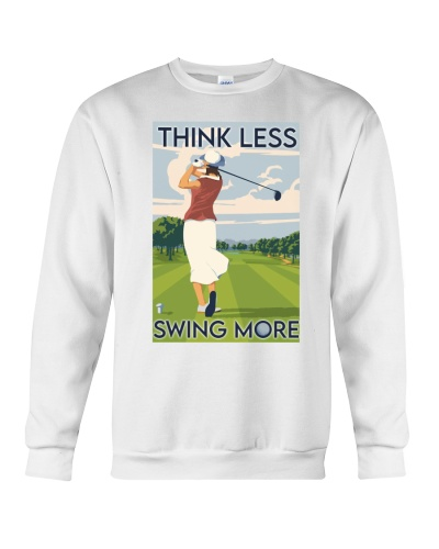 Golf Think Less Swing More