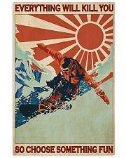 Snowboarding Choose Something Fun  24x36 Poster front