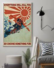 Snowboarding Choose Something Fun  24x36 Poster lifestyle-poster-1