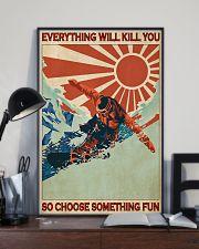 Snowboarding Choose Something Fun  24x36 Poster lifestyle-poster-2