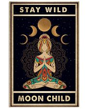 Stay Wild Moon Child Yoga 24x36 Poster front