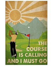Golf Course Is Calling 24x36 Poster front