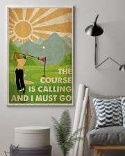 Golf Course Is Calling 24x36 Poster lifestyle-poster-1