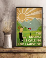 Golf Course Is Calling 24x36 Poster lifestyle-poster-3