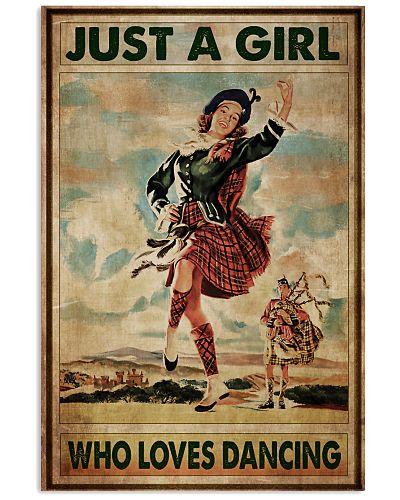 Irish Girl Loves Dancing