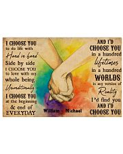 LGBT Hands Holding 36x24 Poster front