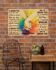 LGBT Hands Holding 36x24 Poster poster-landscape-36x24-lifestyle-20