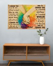 LGBT Hands Holding 36x24 Poster poster-landscape-36x24-lifestyle-21