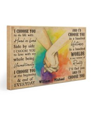 LGBT Hands Holding 30x20 Gallery Wrapped Canvas Prints thumbnail