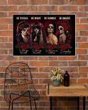 DOTD Be Badass 36x24 Poster poster-landscape-36x24-lifestyle-20