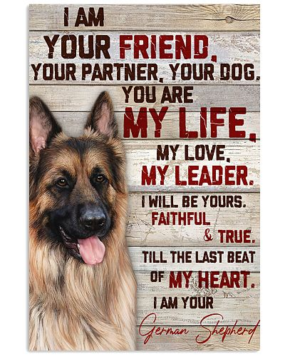 German Shepherd I Am Your Friend