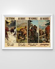 Bear Hunting Be Badass  36x24 Poster poster-landscape-36x24-lifestyle-02