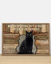 Black Cat When Visiting My House 36x24 Poster poster-landscape-36x24-lifestyle-03