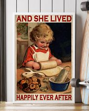 Girl Baking Lived Happily Ever After 24x36 Poster lifestyle-poster-4