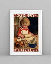 Girl Baking Lived Happily Ever After 24x36 Poster lifestyle-poster-5