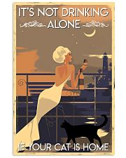 Drinking Alone 24x36 Poster front