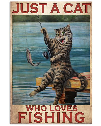 Just A Cat Loves Fishing