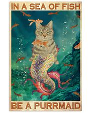 Be A Purrmaid 24x36 Poster front