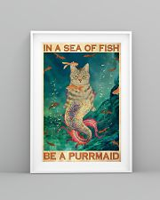 Be A Purrmaid 24x36 Poster lifestyle-poster-5