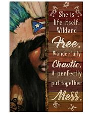 Puerto Rican Girl She Is Life  24x36 Poster front