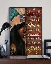 Puerto Rican Girl She Is Life  24x36 Poster lifestyle-poster-2