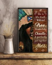 Puerto Rican Girl She Is Life  24x36 Poster lifestyle-poster-3