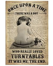 Turntables  24x36 Poster front