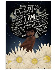I Am Black 9  24x36 Poster front