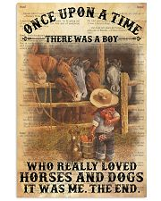 Boy Horses Dogs OUAT Dictionary 24x36 Poster front