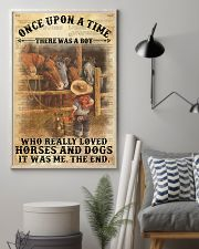 Boy Horses Dogs OUAT Dictionary 24x36 Poster lifestyle-poster-1