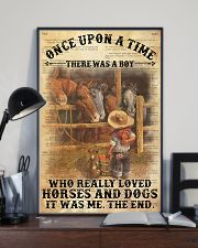 Boy Horses Dogs OUAT Dictionary 24x36 Poster lifestyle-poster-2