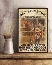 Boy Horses Dogs OUAT Dictionary 24x36 Poster lifestyle-poster-3