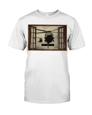 Helicopter Window Classic T-Shirt tile