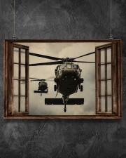 Helicopter Window 36x24 Poster aos-poster-landscape-36x24-lifestyle-11
