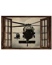 Helicopter Window 36x24 Poster front
