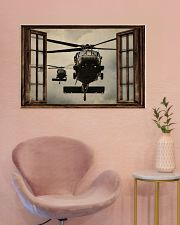 Helicopter Window 36x24 Poster poster-landscape-36x24-lifestyle-19