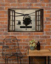 Helicopter Window 36x24 Poster poster-landscape-36x24-lifestyle-20