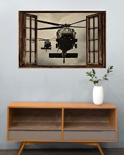 Helicopter Window 36x24 Poster poster-landscape-36x24-lifestyle-21