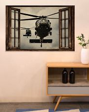 Helicopter Window 36x24 Poster poster-landscape-36x24-lifestyle-22