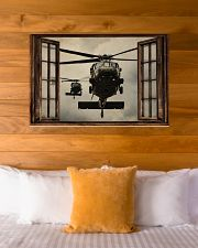 Helicopter Window 36x24 Poster poster-landscape-36x24-lifestyle-23