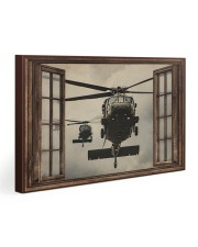 Helicopter Window Gallery Wrapped Canvas Prints tile