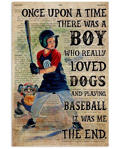 OUAT Boy Playing Baseball Loved Dogs
