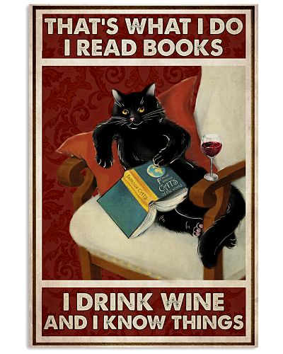 Black Cat Reads Books And Drinks Wine