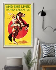 Cowgirl Happily Ever After 16x24 Poster lifestyle-poster-1