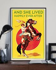 Cowgirl Happily Ever After 16x24 Poster lifestyle-poster-2