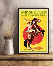 Cowgirl Happily Ever After 16x24 Poster lifestyle-poster-3